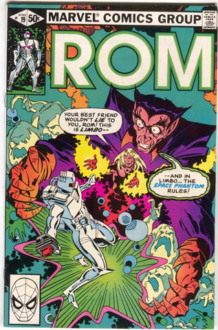 ROM Spaceknight 19 Marvel 1981 VF Bill Mantlo Michael Golden