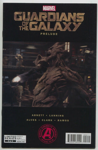 Guardians Of The Galaxy Prelude 1 Marvel 2014 NM Movie Groot Photo