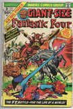 Giant Size Fantastic Four 5 Marvel 1974 FR Jack Kirby Stan Lee Annual 5 15