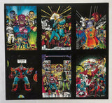 Infinity Gauntlet Keepsake Collection George Perez 1991 1 2 3 4 5 6 Prints
