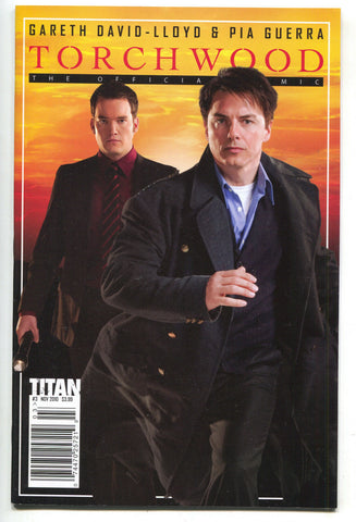 Torchwood 3 B Titan 2010 NM John Barrowman Photo Variant BBC TV Doctor Who
