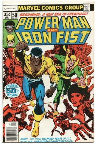 Power Man And Iron Fist 50 Marvel 1978 FN VF Luke Cage Hero For Hire