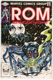 ROM Spaceknight 30 Marvel 1982 VF Bill Mantlo Al Milgorm Giant Spider