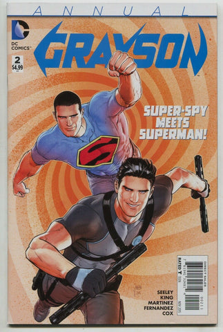 Grayson Annual 2 DC 2015 NM Tom King Mikel Janin Superman
