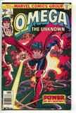 Omega The Unknown 5 Marvel 1976 VF Gil Kane Spider-Man