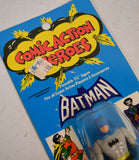 Comic Action Heroes Batman Action Figure Mego 1975 MOC New 3 3/4""
