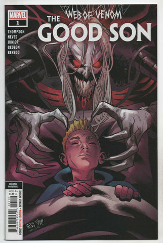 Web Of Venom Good Son 1 Marvel 2020 NM- 2nd Print Diogenes Neves Variant Knull