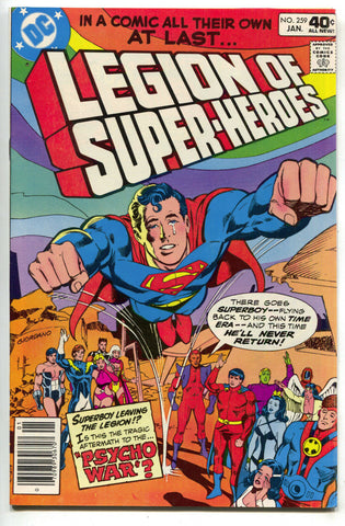 Legion Of Super-Heroes 259 DC 1980 VF NM Superboy