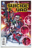 New Suicide Squad 2 A DC 2014 NM- 1st Print 52 Deathstroke Harley Quinn Deadshot