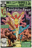 Fantastic Four 239 1st Series Marvel 1982 FN VF John Byrne Nova Quicksilver