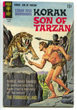 Korak Son Of Tarzan 24 Gold Key 1966 GD Lion Leopard Men