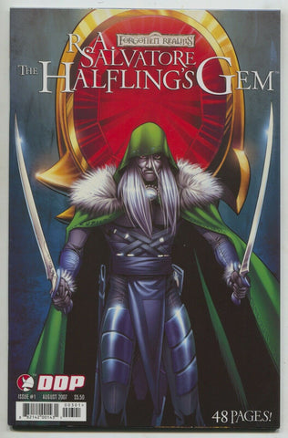 Forgotten Realms Halfling's Gem 1 A Devils Due 2007 NM Drizzt RA Salvatore