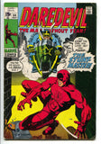 Daredevil 64 Marvel 1970 FN Stunt-Master Motorcycle Roy Thomas