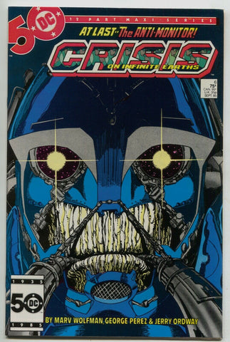 Crisis On Infinite Earths 6 DC 1985 NM Marv Wolfman 1st Wildcat