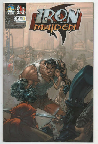 Iron And The Maiden 3 Aspen 2007 NM Jeff Matsuda Signed Joel Gomez
