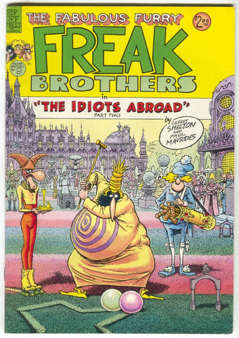 Fabulous Furry Freak Brothers 9 Rip Off Press 1985 VF 1st Print