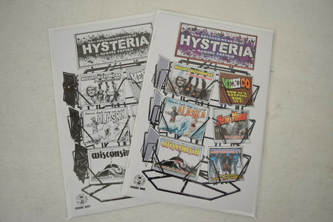 Divided States Of Hysteria 1 Image 25th Anniversary Box Variant Color Sketch Set