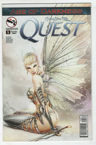 Grimm Fairy Tales Quest 5 Zenescope 2014 NM Jamie Tyndall Variant GFT