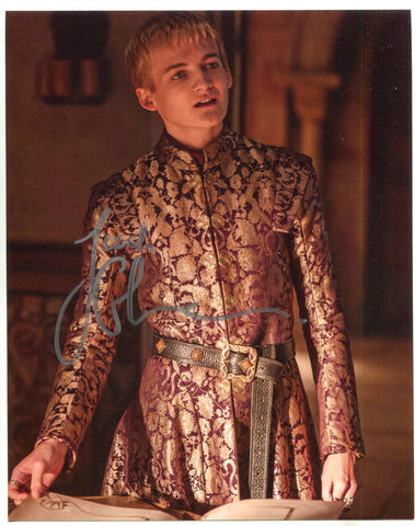 Jack Gleeson Autographed 8 x 10 Photo COA Game Of Thrones King Joffrey B Signed
