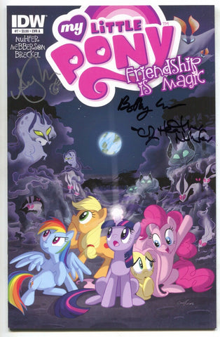 My Little Pony Friendship Is Magic 7 Signed 3x Heather Nuffer Amy Mebberson