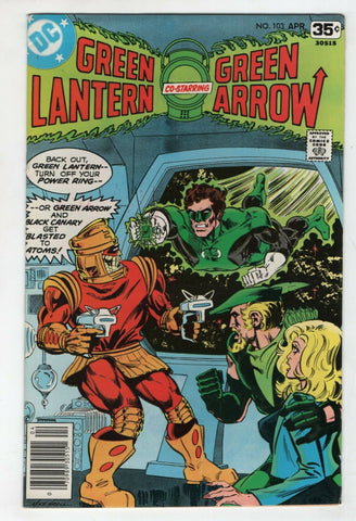 Green Lantern 103 1st Series DC 1978 VF Green Arrow Black Canary Mike Grell