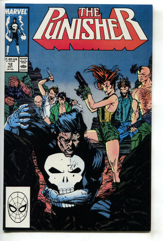 Punisher 12 2nd Series Marvel 1988 NM Whilce Portacio