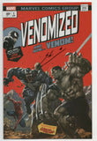 Venomized 1 Marvel 2018 NM Signed Skan Srisuwan Variant Incredible Hulk 181