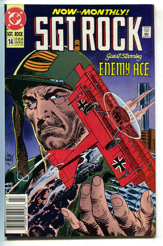 Sgt Rock Special 14 DC 1991 NM Joe Kubert Enemy Ace Our Army At War 153