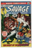 Doc Savage 5 Marvel 1973 VF Gil Kane