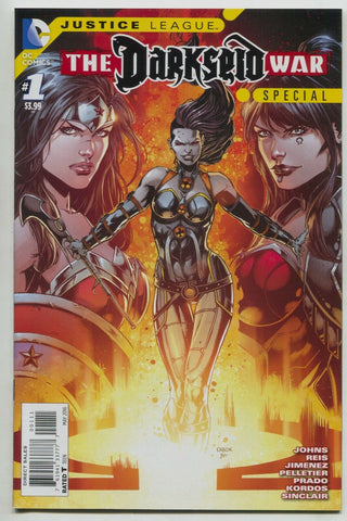 Justice League Darkseid War Special 1 A DC 2016 NM Geoff Johns Wonder Woman