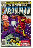Invincible Iron Man 108 Marvel 1978 VF Jack Of Hearts Yellowjacket Spider-Man Ad