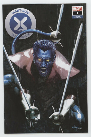 Giant Size X-Men Nightcrawler 1 Marvel 2020 Mico Suayan Venom 1 Homage Variant