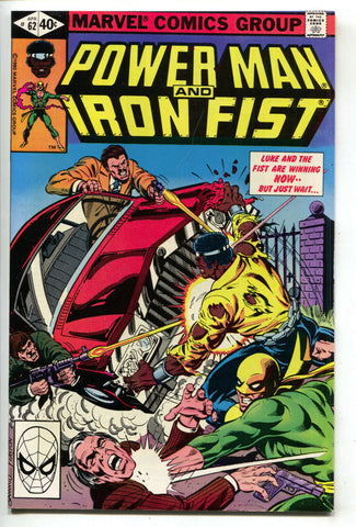 Power Man And Iron Fist 62 Marvel 1980 NM- Luke Cage Heroes For Hire Bob Layton