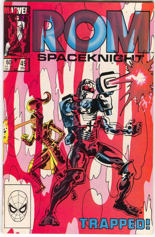 ROM Spaceknight 49 Marvel 1983 VF Al Milgrom