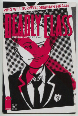 Deadly Class 18 B Image 2016 NM Wes Craig Variant Red X Rick Remender