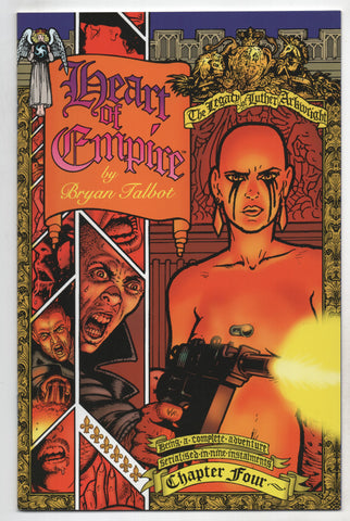 Heart Of Empire Legacy Of Luther Arkwright 4 Dark Horse 1999 NM Bryan Talbot