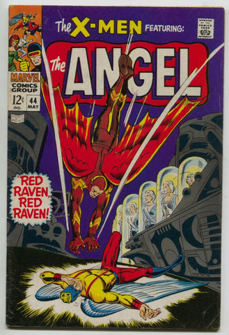 Uncanny X-Men 44 1st Series Marvel 1968 FN 1st Red Raven Iceman