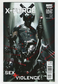 X-Force Sex And Violence 3 Marvel 2010 NM Wolverine Domino Gabriele Dell'Otto