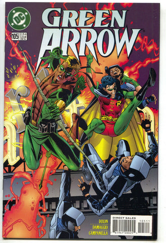 Green Arrow 105 1st Series DC 1996 NM Connor Hawke Batman Robin Chuck Dixon