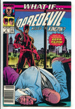 What If 2 2nd Series Marvel 1989 FN VF Daredevil Mark Jeweler Insert Variant