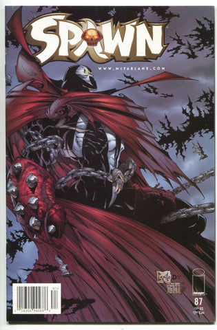 Spawn 87 Image 1999 VF Newsstand Todd McFarlane Greg Capullo