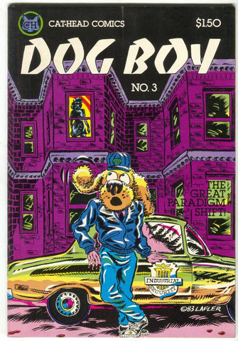 Dog Boy 3 Cat-Head Comics 1984 FN VF