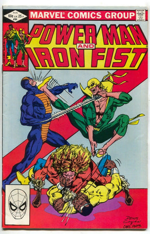Power Man And Iron Fist 84 Marvel 1982 VF Luke Cage 4th Sabretooth