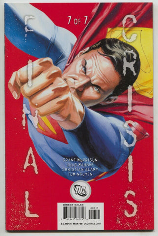 Final Crisis 7 B DC 2009 NM- JG Jones Superman Variant