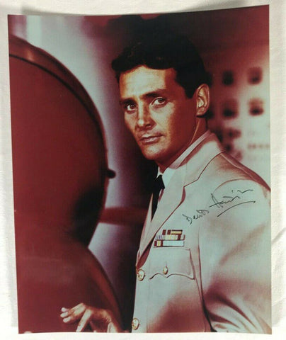 David Hedison Voyage To The Bottom Of The Sea 8 x 10 Signed Autograph Photo