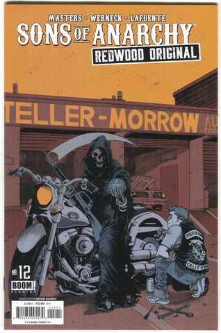 Sons Of Anarchy Redwood Original 12 Boom 2017 NM- Death Motorcycle
