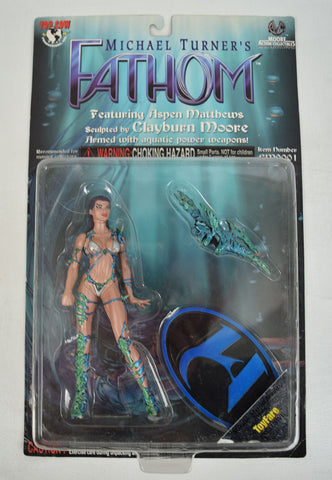 Fathom Aspen Matthews Action Figure Toyfare Wizard Exclusive CM9003 NIB