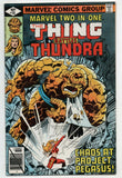 Marvel Two-In-One 56 1979 VF Thing Thundra Project Pegasus John Byrne