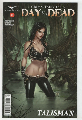 Grimm Fairy Tales Day Of The Dead 3 C Zenescope 2017 NM Mike Krome Variant GFT