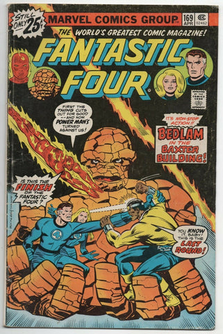 Fantastic Four 169 Marvel 1976 FN Rich Buckler Power Man